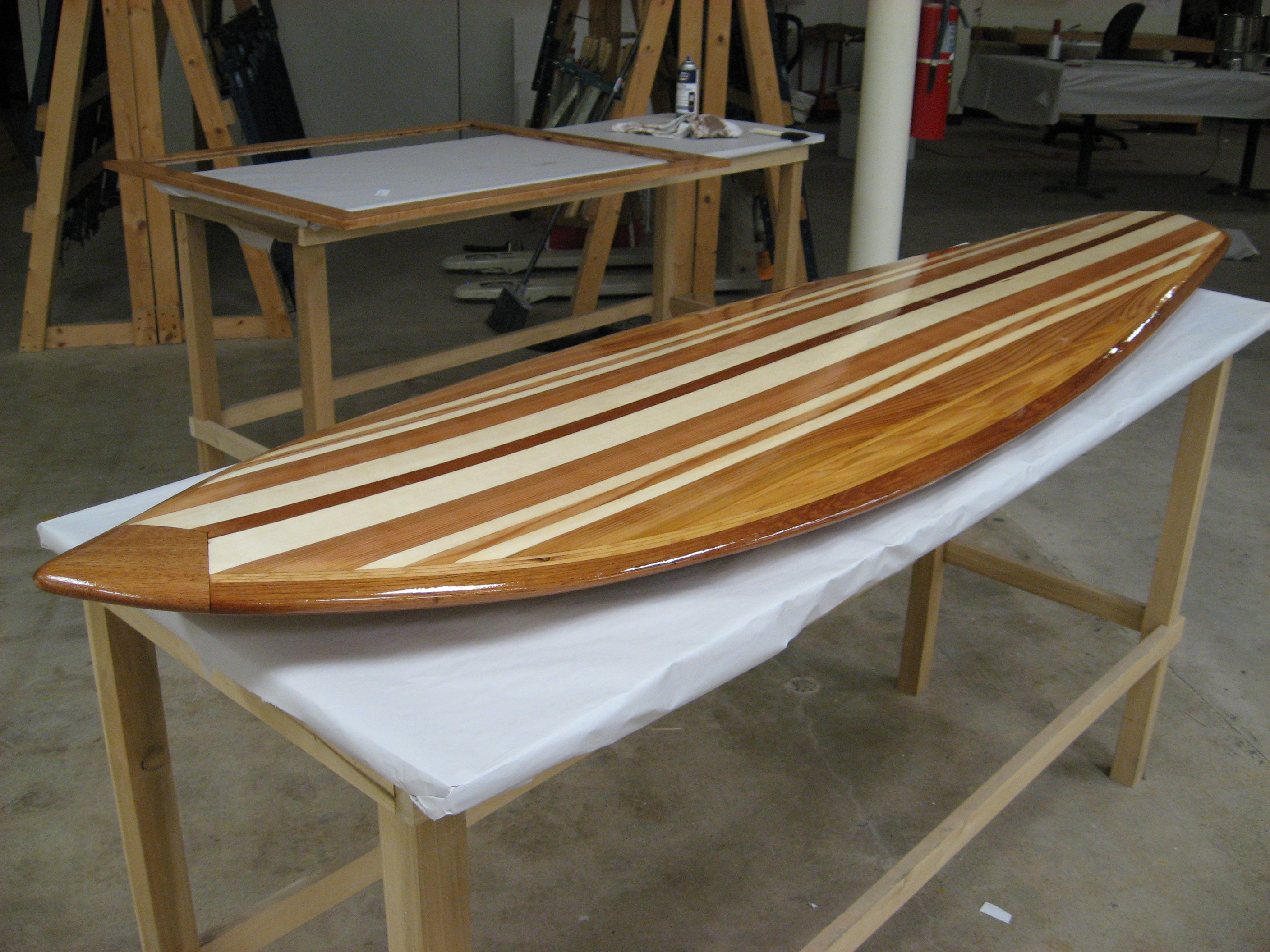 DIY Wooden Surfboard Plans PDF Download wood playhouse kit ...